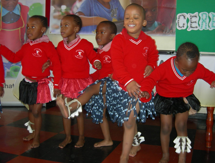 asha preschool in soweto day care protea children perform during 21982
