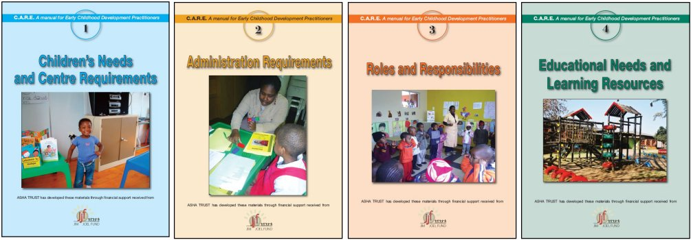 C.A.R.E. Course Manuals The Early Care Foundation