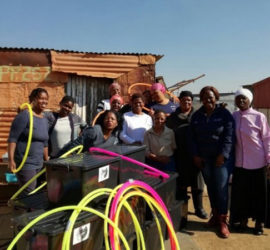 Learning resources delivered in Mamelodi